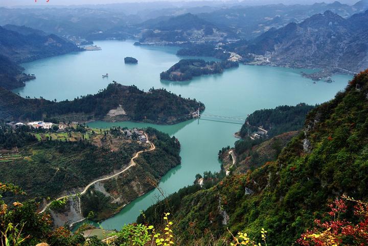 百度黔江最美风景图